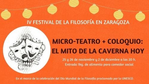 Micro Teatro + coloquio: El mito de la caverna
