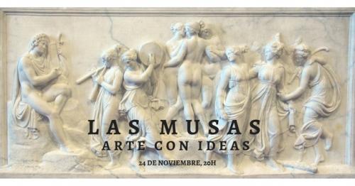 Conferencia gratuita: Las Musas, arte con ideas.