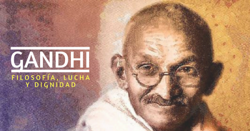 Conferencia  Gandhi: Filosofía, lucha y dignidad