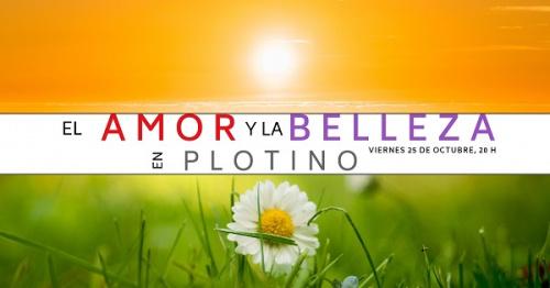 Conferencia gratuita: El amor y la belleza en Plotino.