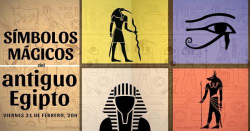 Conferencia: Símbolos mágicos del antiguo Egipto.
