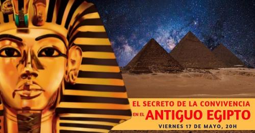 Conferencia gratuita: El secreto de la convivencia en el antiguo Egipto.