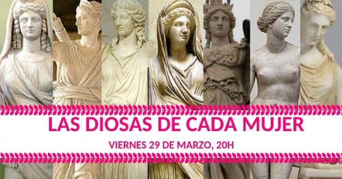 Conferencia gratuita: Las diosas de cada mujer.