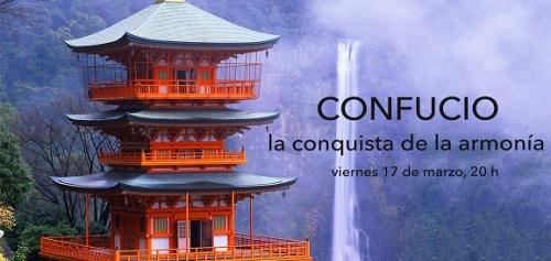CONFERENCIA:Confucio. La conquista de la armonía