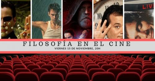 Conferencia gratuita: Filosofía en el cine.